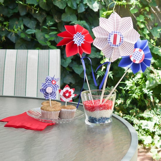 DIY Pinwheel Party Decorations