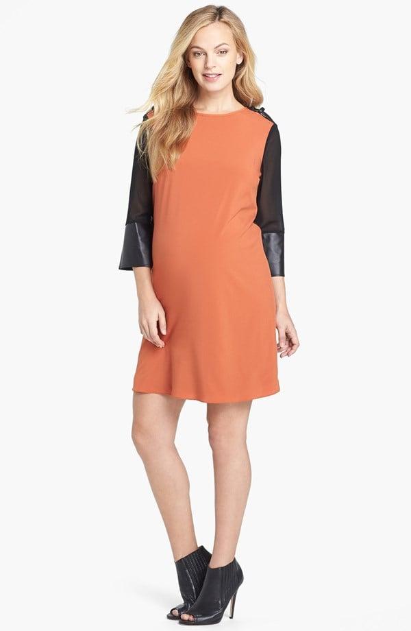 Maternal America Sweater-Back Dress