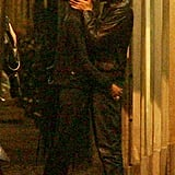 Adrien Brody and girlfriend Lara Lieto kissed while out in Rome.