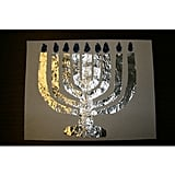 A Flameless Menorah