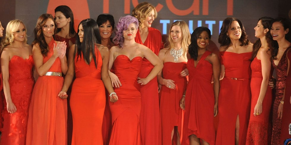 The Heart's Truth Red Dress Fashion Show Celebrity Pictures