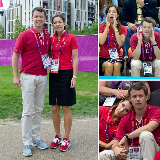 Princess Mary and Prince Frederik Pictures Cheering Denmark at 2012 Olympics