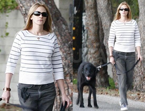Julia Walks the Dog