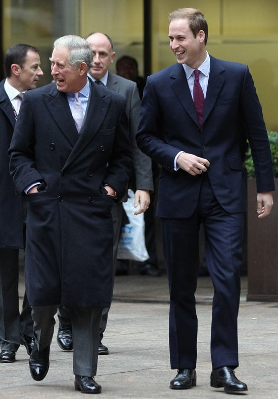 Pictures of Prince William and Prince Charles