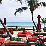 For a small additional cost per person, I'd highly suggest joining the Grand Club, which gives everyone in the party access to private sections on the beach, beautiful beachside cabanas, jet ski access, a certificate for hydrotherapy at the spa, and a separate bar and lounge area where you can order unlimited cocktails to your heart's content. Yes, I said it, unlimited.