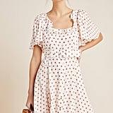 Daisy Dotted Mini Dress
