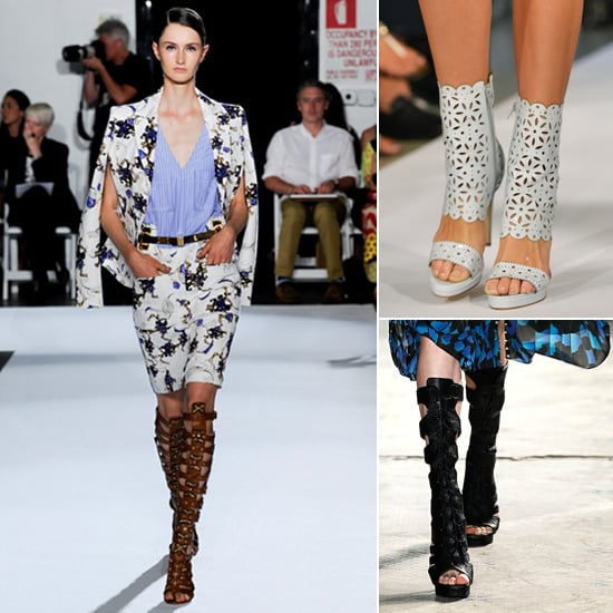 When a Sandal and a Boot Fall In Love . . . You Get Spring's Most Daring Shoe