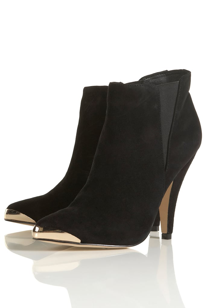 These Topshop Awake Chelsea Point Boots ($136) have just enough glamour to turn even skinny jeans and a blouse into party material.