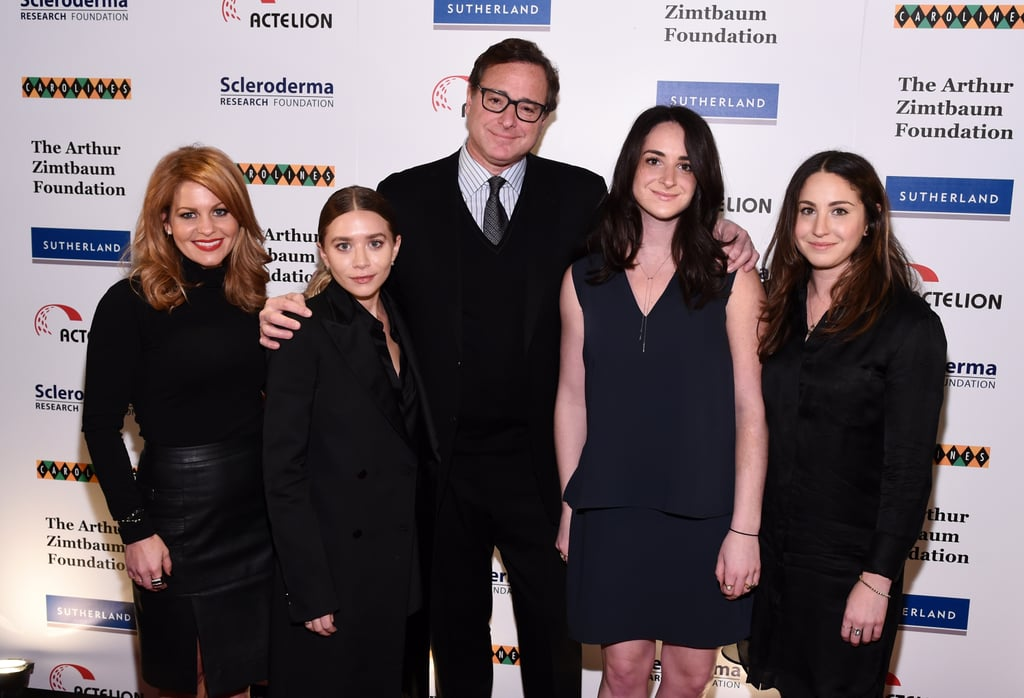 Bob Saget and Ashley Olsen Reunite For a Charity Event 2015