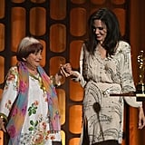 November: She Danced on Stage With Director Agnes Varda at the Governors Awards