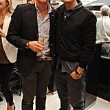 Orlando Bloom hung out with his friend Nick English.