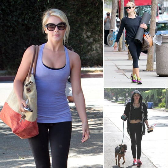 Sweat Like a Celeb! See How Your Favorite Stars Stayed Fit This Week