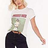 Crocodile Rock Elton John Graphic Tee
