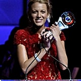 Blake Lively Wows With Sexy Marchesa and Equally Hot Ryan Reynolds