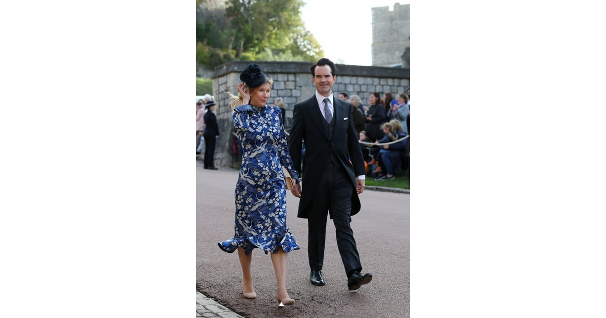 Karoline Copping And Jimmy Carr Princess Eugenie S Wedding Brought Out So Many Stars We Almost Mistook It For An Award Show Popsugar Celebrity Photo 14 Ahead of princess eugenie's wedding, it's your classic cloudy day at windsor castle today (hey, they say that's good luck). karoline copping and jimmy carr