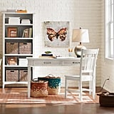 Home Decorators Collection Rectangular Writing Desk with Built-In Storage