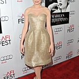 Michelle Williams was poised and pretty for My Week With Marilyn.