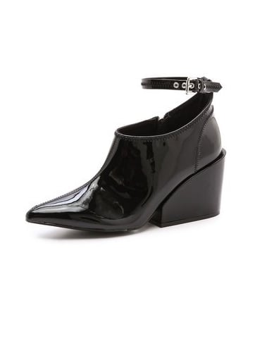 Versatile but totally unique, these wedge ankle-strap booties ($105, originally $140) from Cheap Monday are guaranteed to get lots of wear.