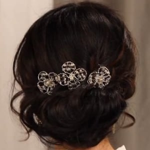 How to Create a Loose Wedding Updo