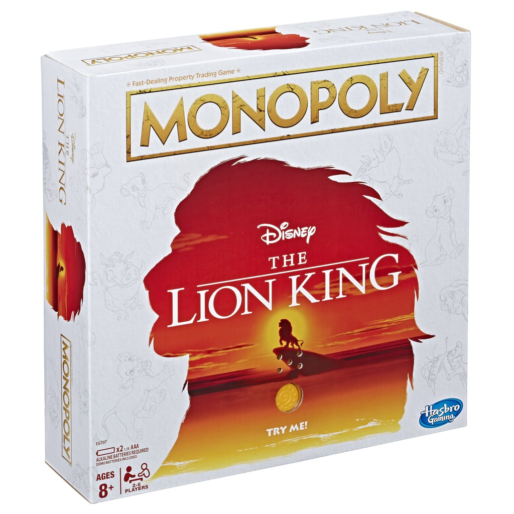 Lion King Monopoly Board — Side View