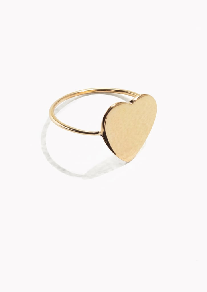 Other Stories Sweetheart Ring (£12)
