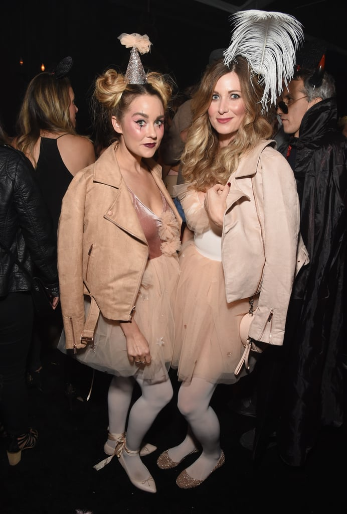 Lauren Conrad and a Friend as Circus Performers