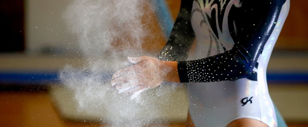 Why Gymnasts Use Chalk on Their Hands, Feet, and Legs