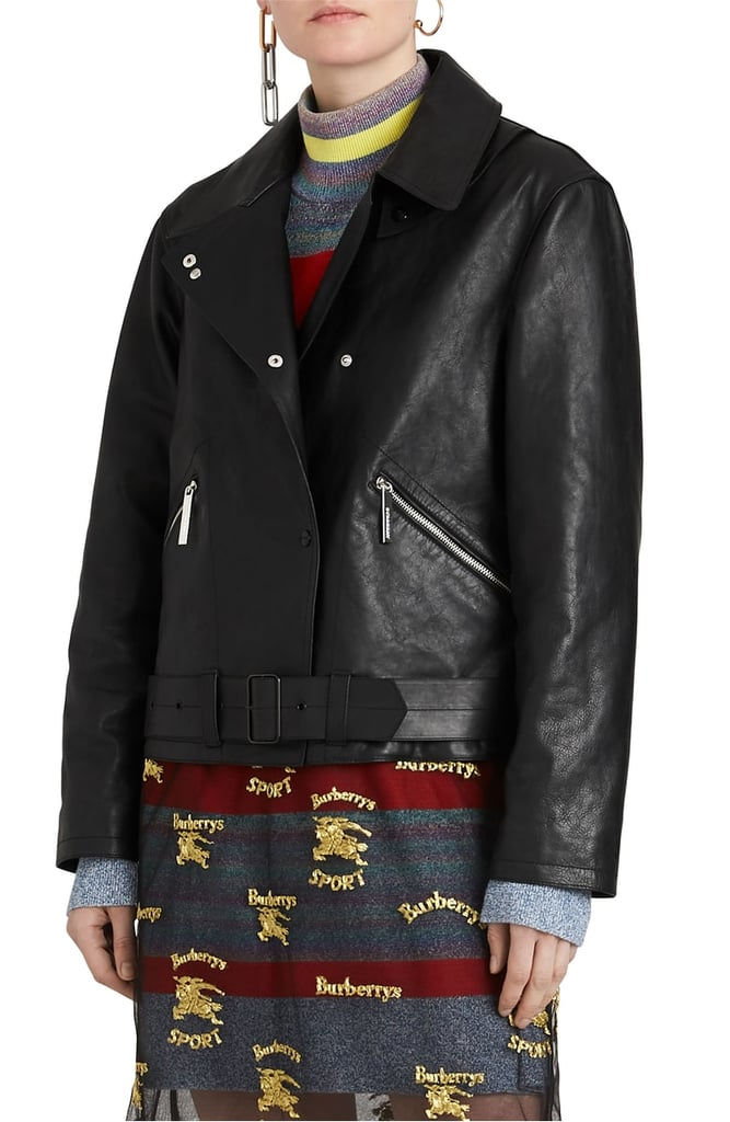 A Black Leather Jacket
