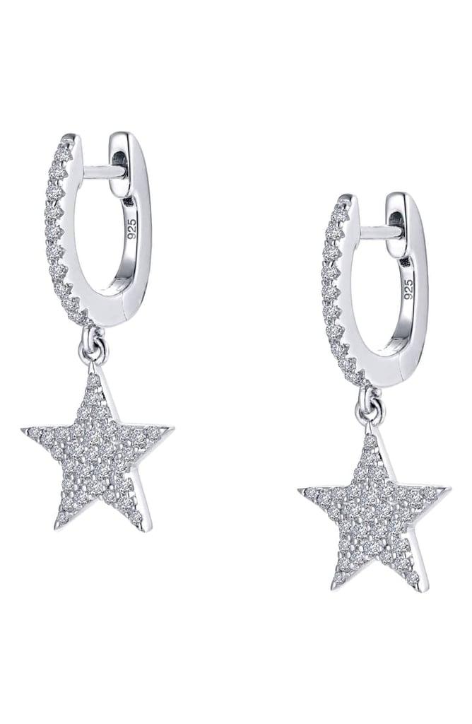 8e6f4b27986eb Lafonn Star Simulated Diamond Drop Earrings   Best Silver Jewellery ...
