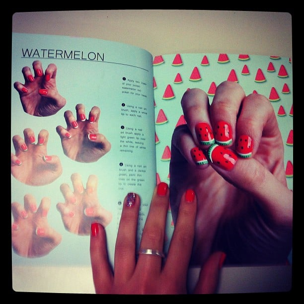 We all pored over this new nail art guide that landed on our desks. Who's keen for Watermelon? You can buy the book here.