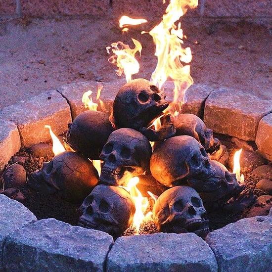 Skull Fire Logs