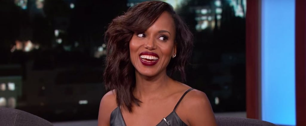 Scandal: Kerry Washington Just Teased a Sexy Look at Season 5