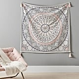 Printed Mandala Tapestry With Tassels
