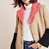Luciana Colorblocked Teddy Jacket