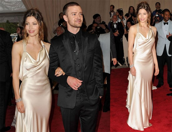 Pictures of Jessica Biel and Justin Timberlake at the 2010 Met Costume Institute Gala