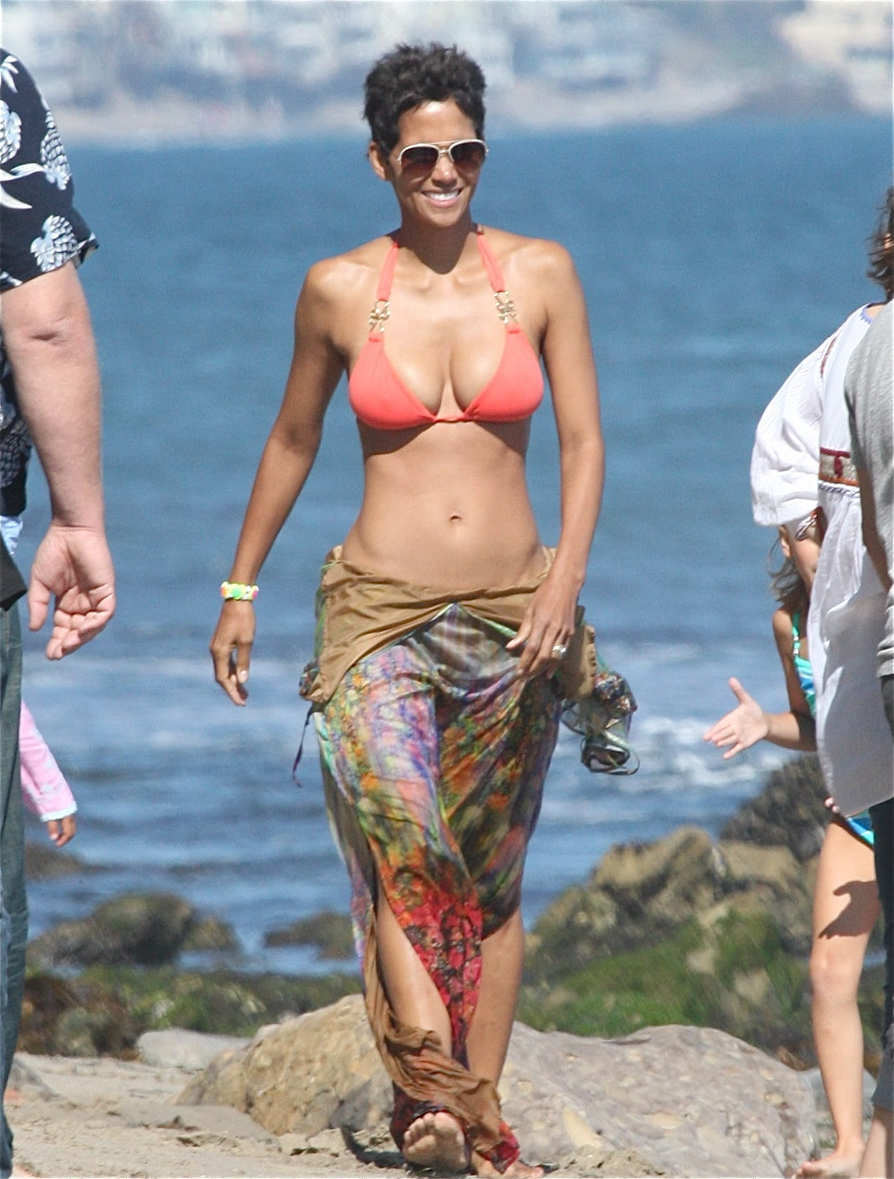 At 49, she looks better than any of us in a bikini.