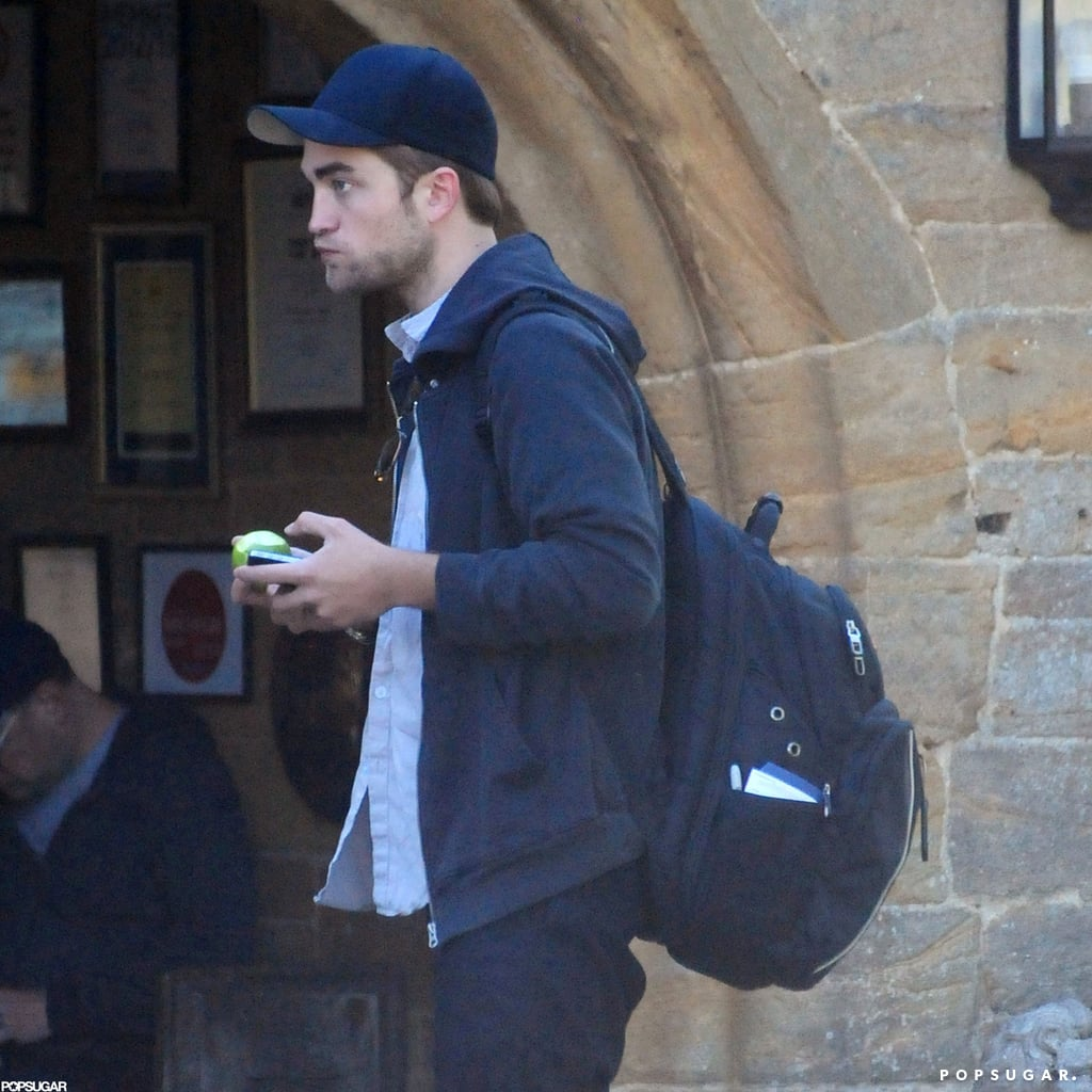 Robert Pattinson Spends His Birthday Weekend With Kristen Stewart