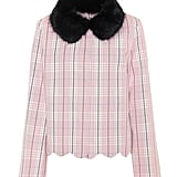 Shrimps Plaid Cotton Jacket