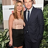 Jen and her pal Jason Bateman posed together at the LA premiere of their comedy The Switch in August 2010.
