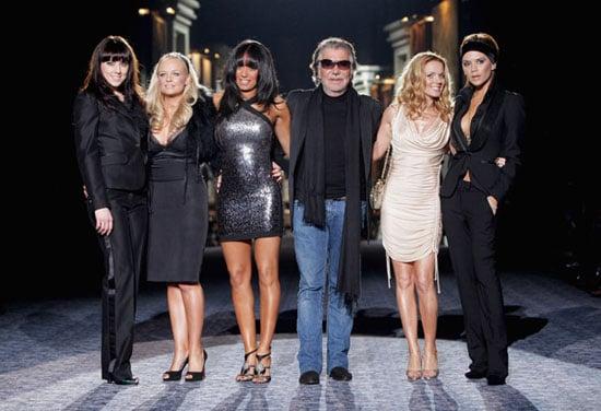 Fab Flash: Spice Girls Hit the Catwalk