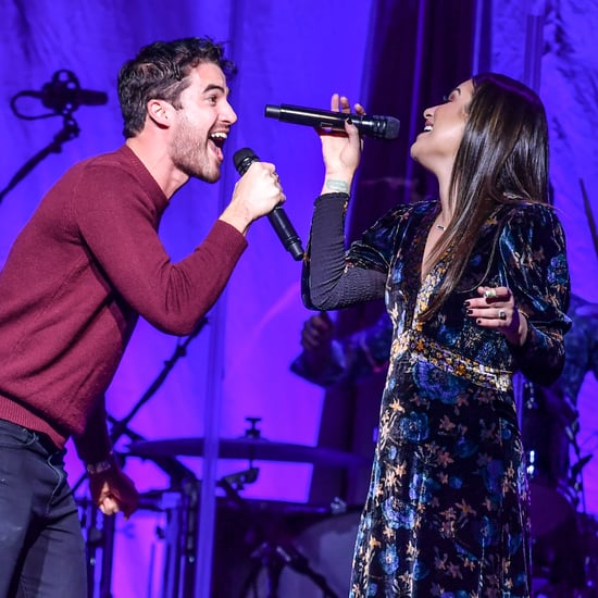 "Lea Michele and Darren Criss ""White Christmas"" Song"