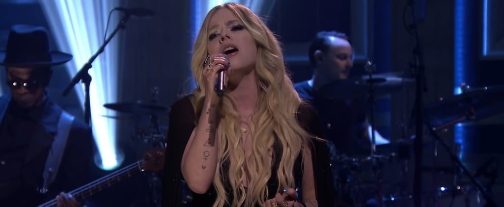 "Avril Lavigne ""Head Above Water"" Tonight Show Performance"