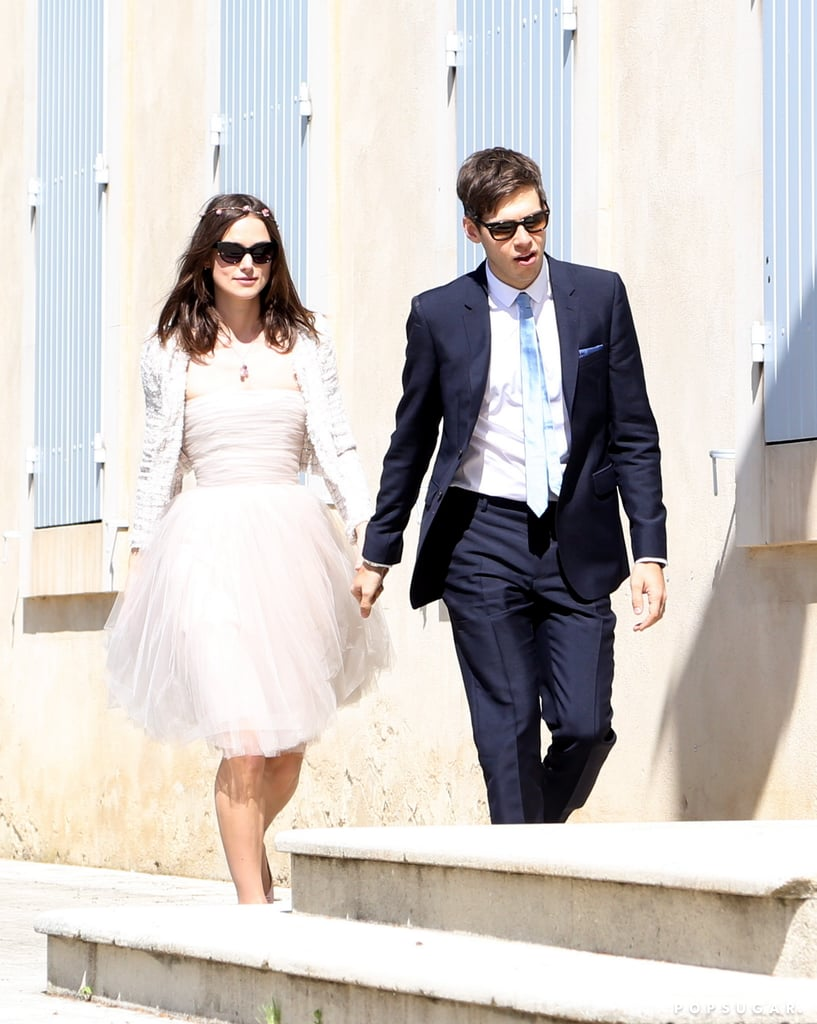 Keira Knightley and James Righton got married.  Source: Spread/X17Online.com