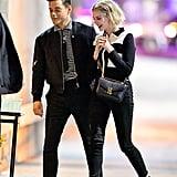 Rami Malek and Lucy Boynton Out in LA January 2019