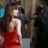 Dakota Johnson Looks Like She Was Born to Wear This 1 Sexy Red Dress