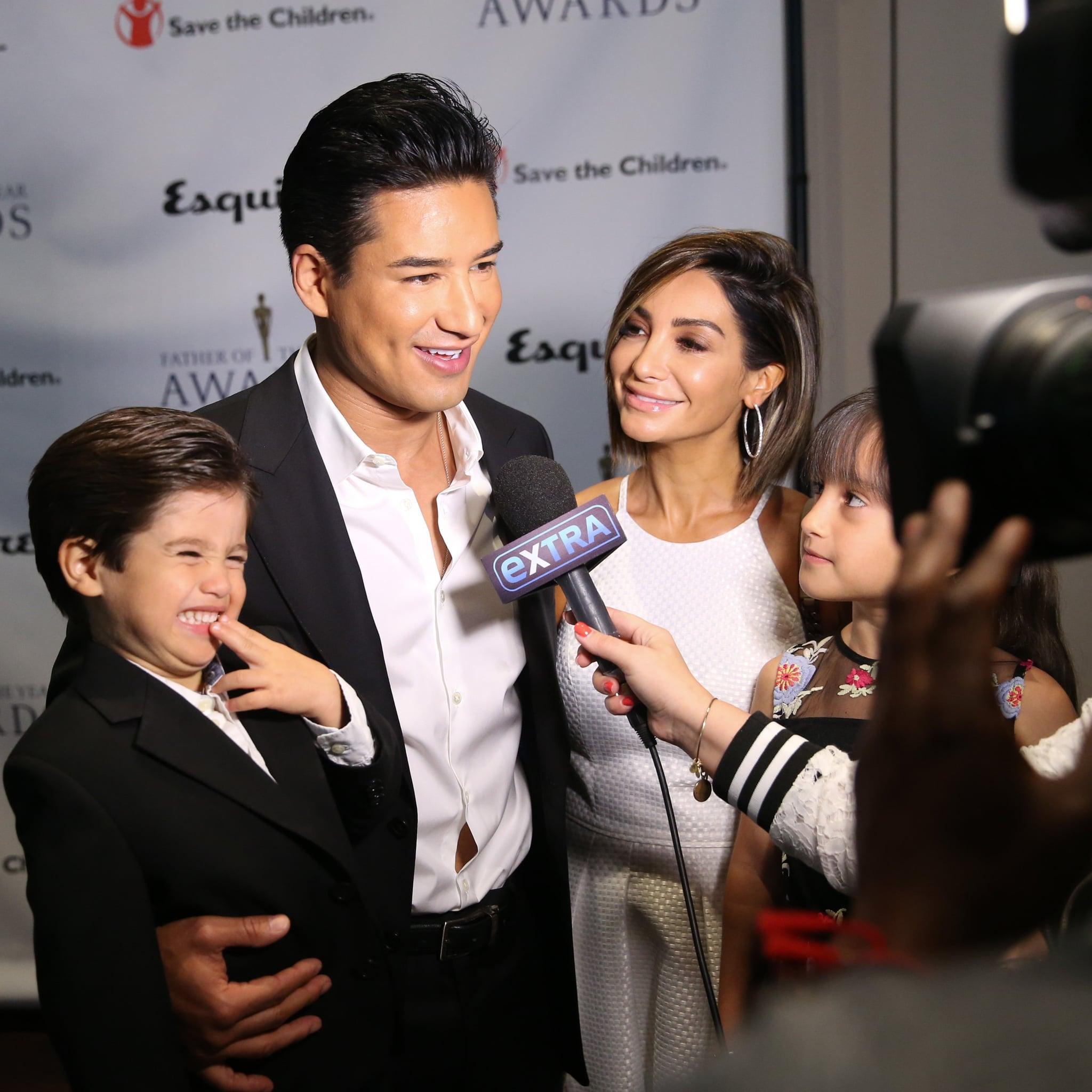 Mario Lopez S Kids Talk About Gas During Interview 2018 Popsugar
