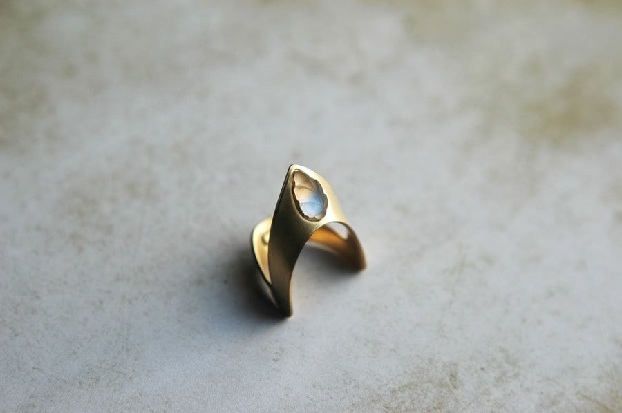 Nausicaä of the Valley of the Wind Inspired Brass Ring ($20)