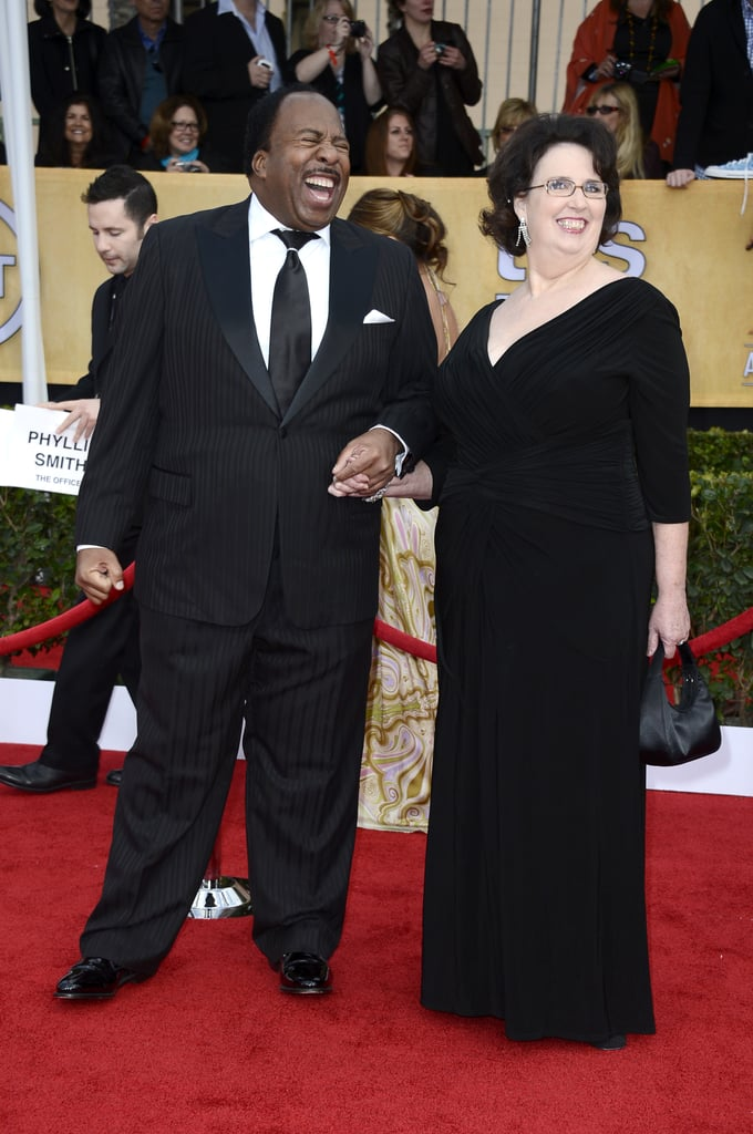 The Office's Phyllis and Stanley Reunited, and the Nostalgia Overfloweth