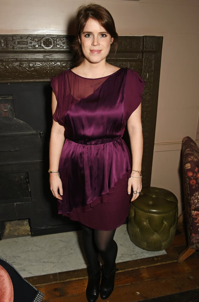 Princess Eugenie's Always Wearing Her Smiley Ring and Thin Bracelets