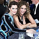 Pictured: Rita Wilson and Allison Williams